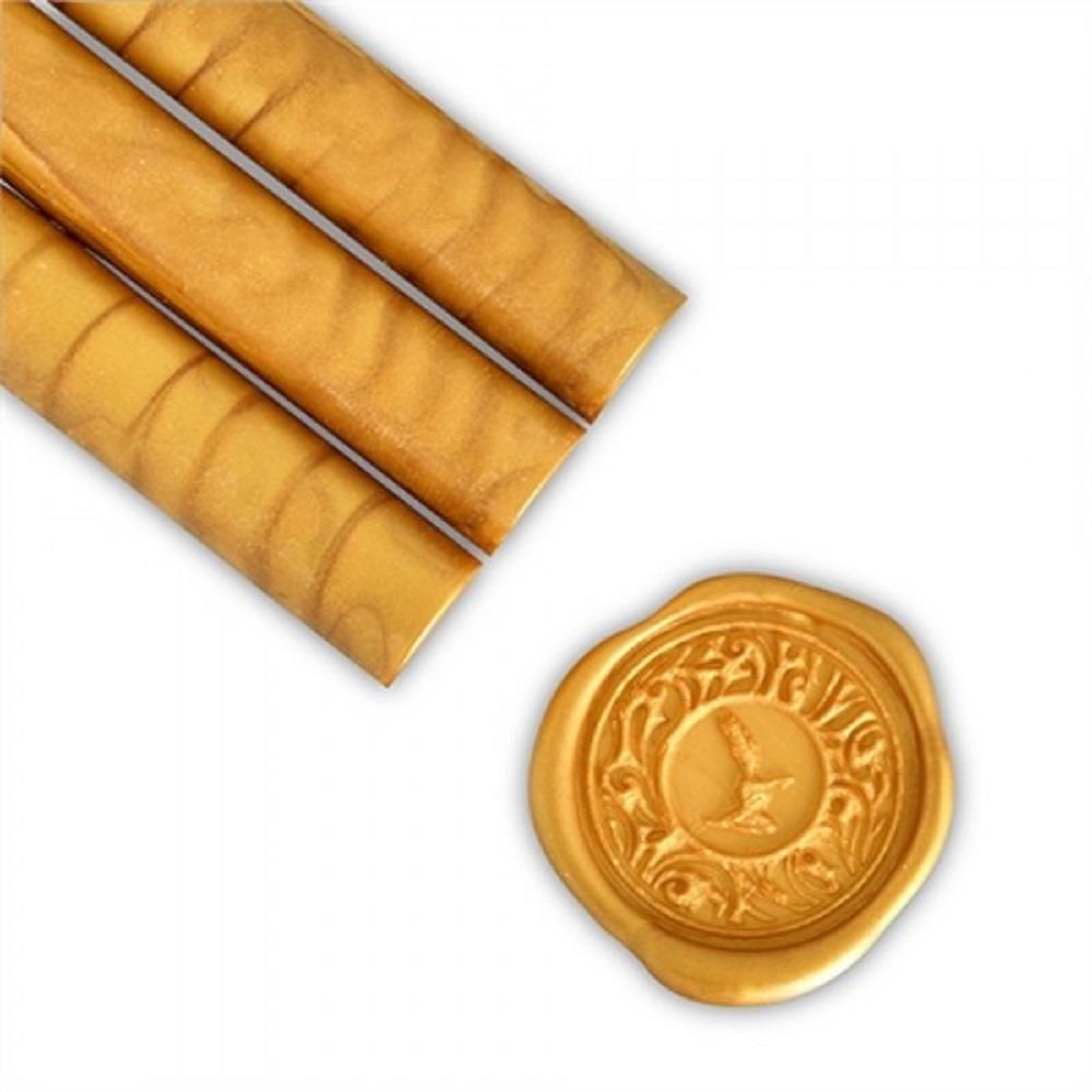 Βουλοκέρι στρογγυλό χρυσό 1 τεμάχιο