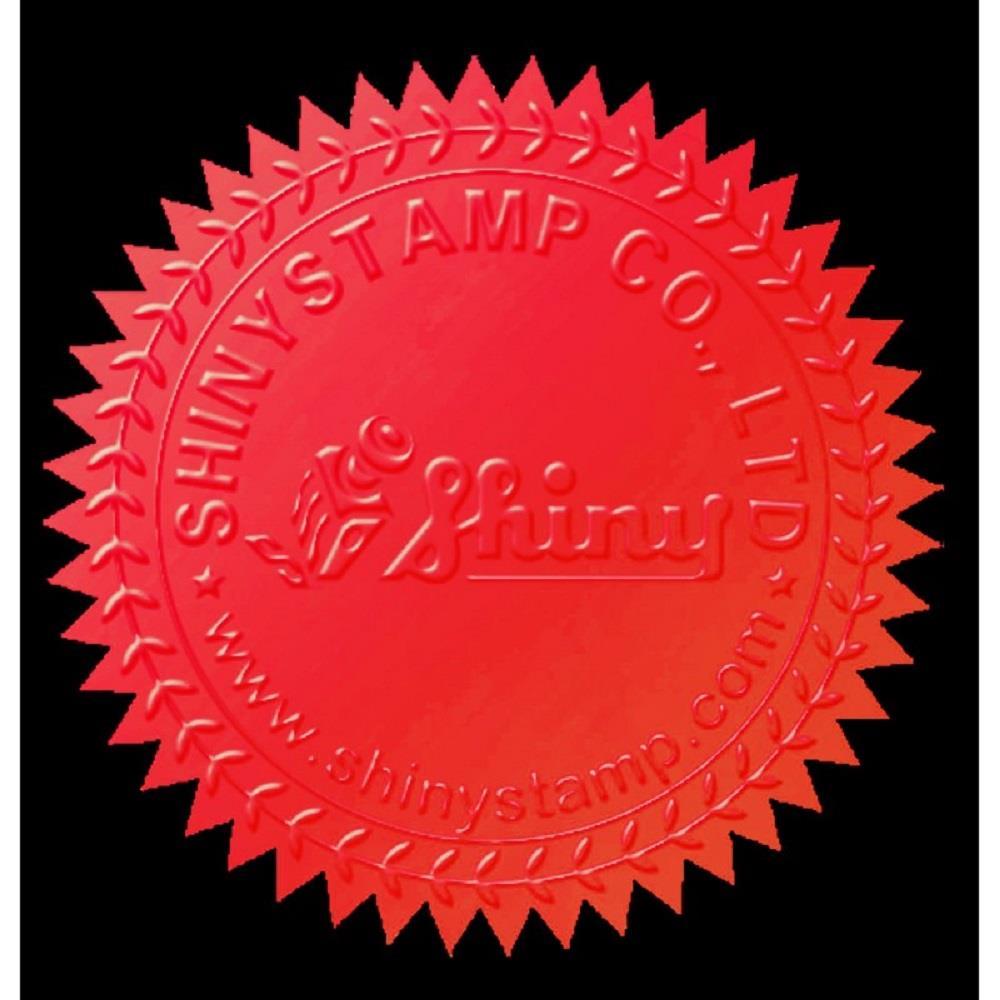 Αυτοκόλητα Shiny CS-3 40mm κόκκινο