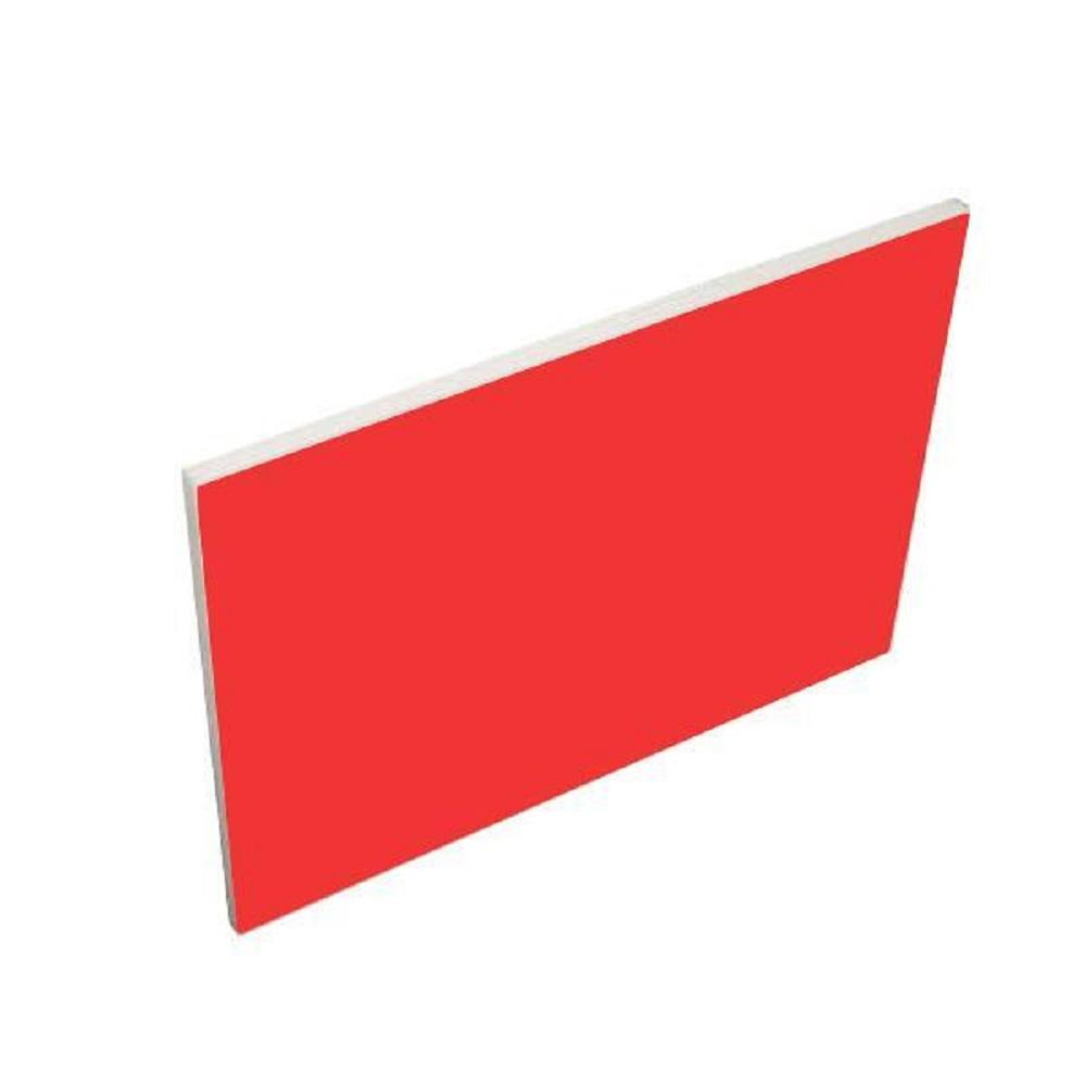 Μακετόχαρτο 50x70 cm 5 mm κόκκινο
