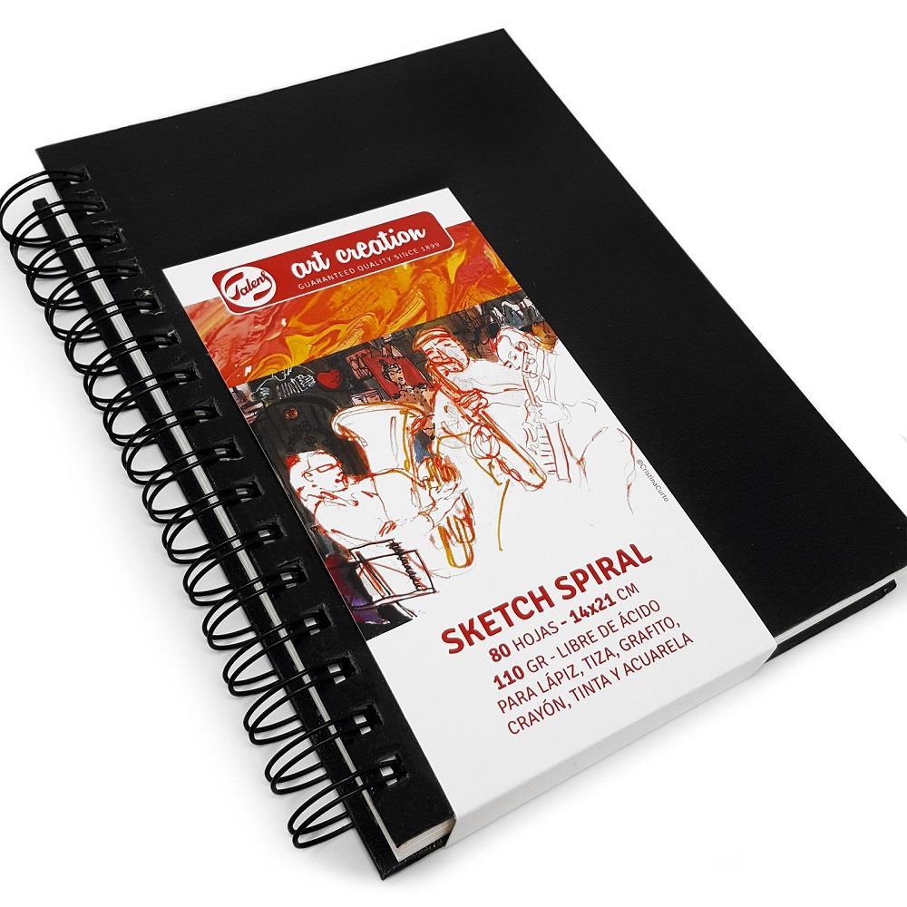Σημειωματάριο 14x21cm Talens 80φ σπιράλ sketchbook
