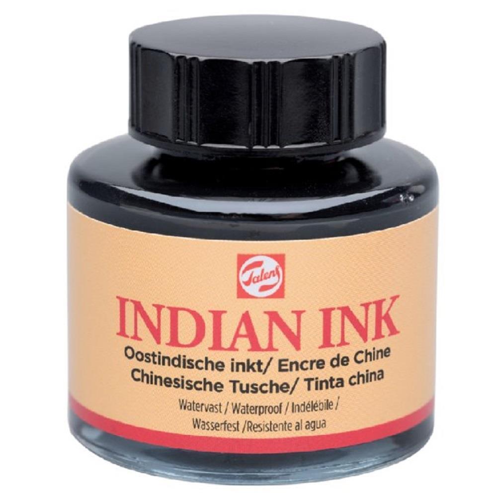Σινική μελάνη Talens Indian Ink 30 ml μαύρη