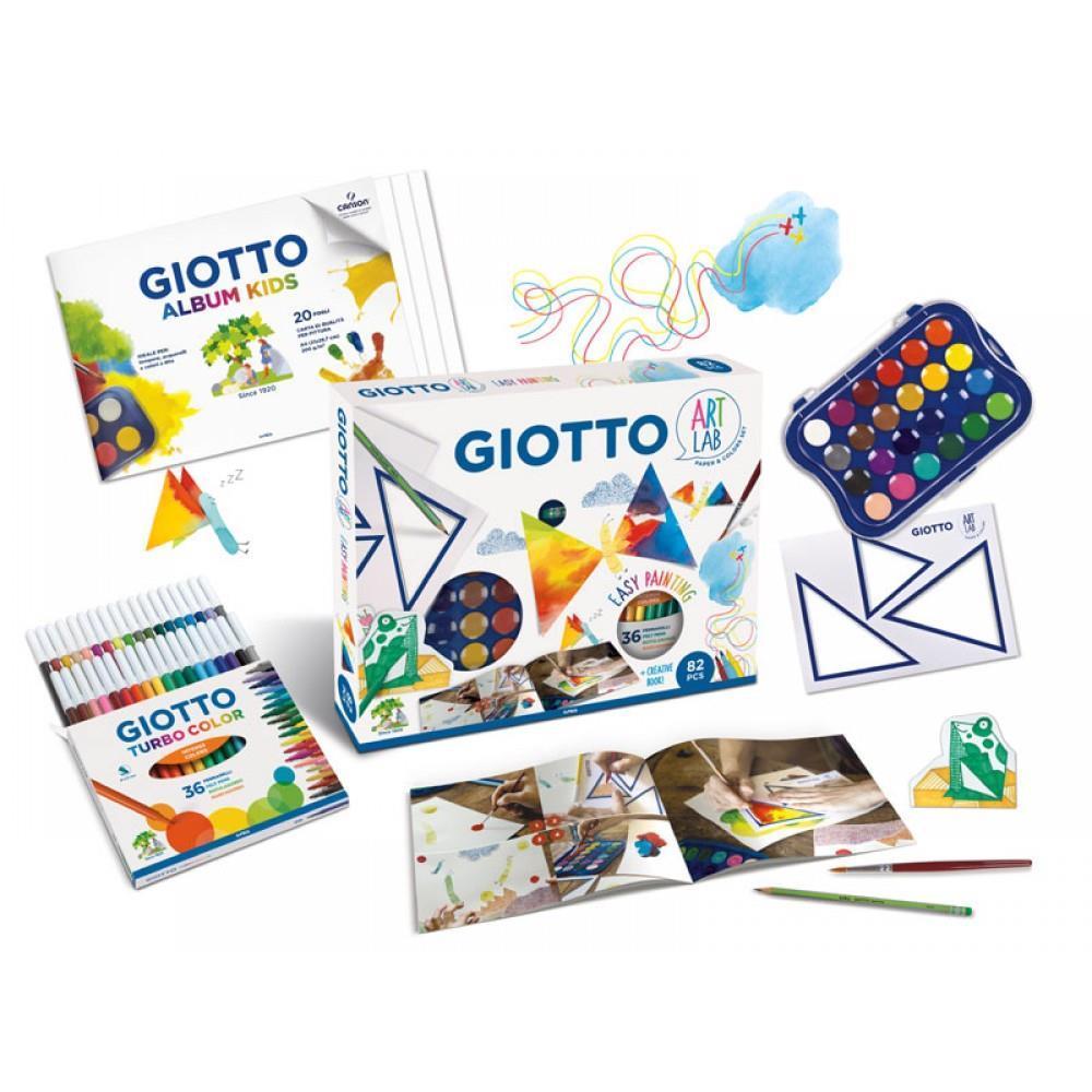 Σετ δημιουργίας Giotto Art Lab Easy Painting 82 τεμ