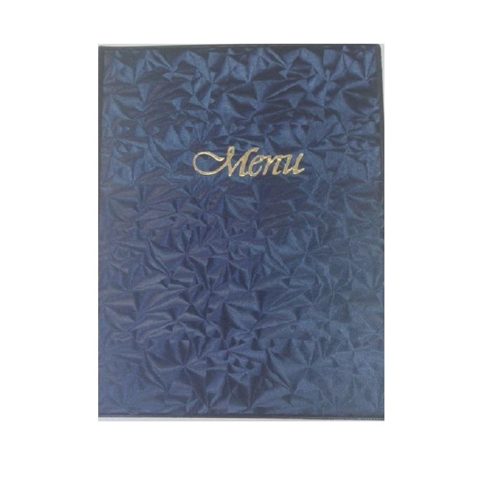 Κατάλογος εστιατορίου 20x25 6 φύλλα Xeason μπλε μενού