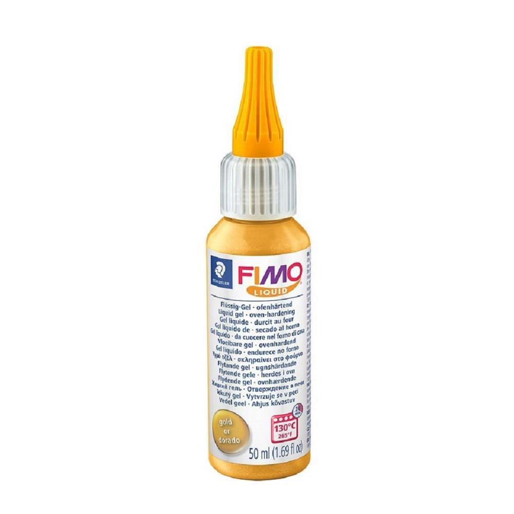 Fimo υγρό Liquid 50 ml 8050-11 gold