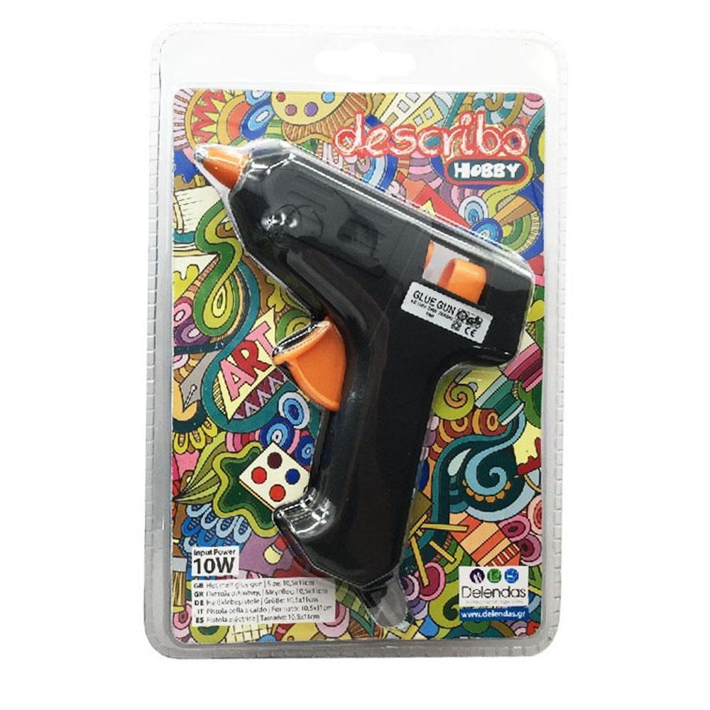 Πιστόλι σιλικόνης Describo μικρό 7,4 mm 10W