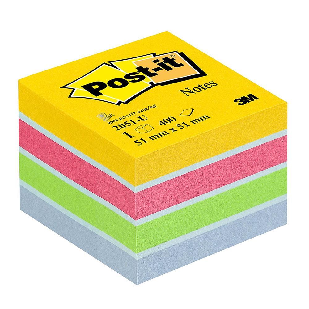 Χαρτάκια Post-it 3M 51x51 400Φ 2051U