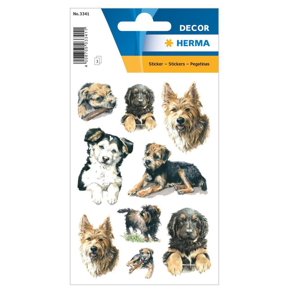 Αυτοκόλλητα Herma Decor 3341 dogs