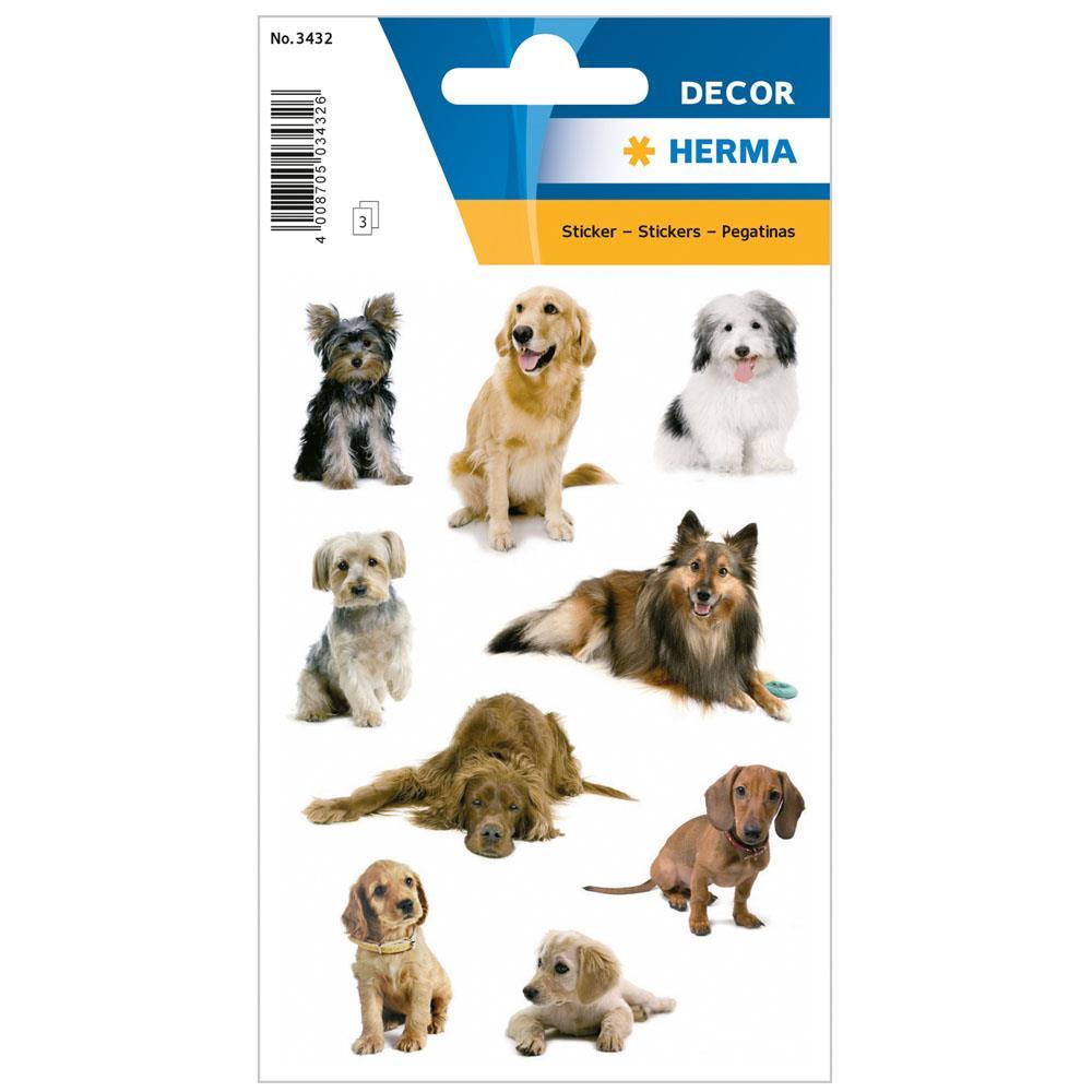 Αυτοκόλλητα Herma Decor 3432 dog photos