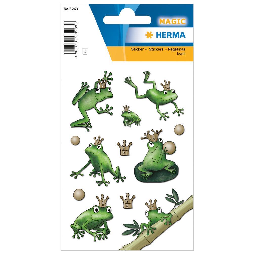 Αυτοκόλλητα Herma Magic 3263 frog king