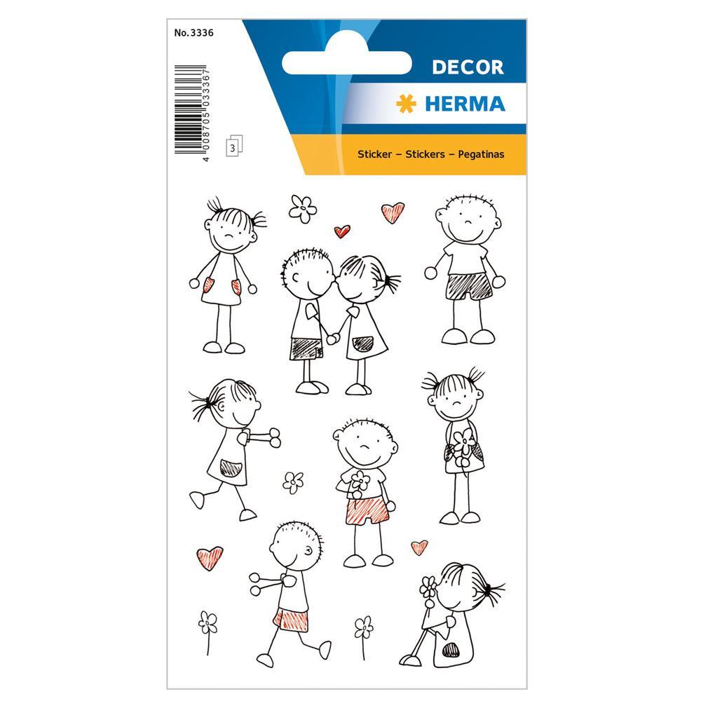 Αυτοκόλλητα Herma Decor 3336 stick figures