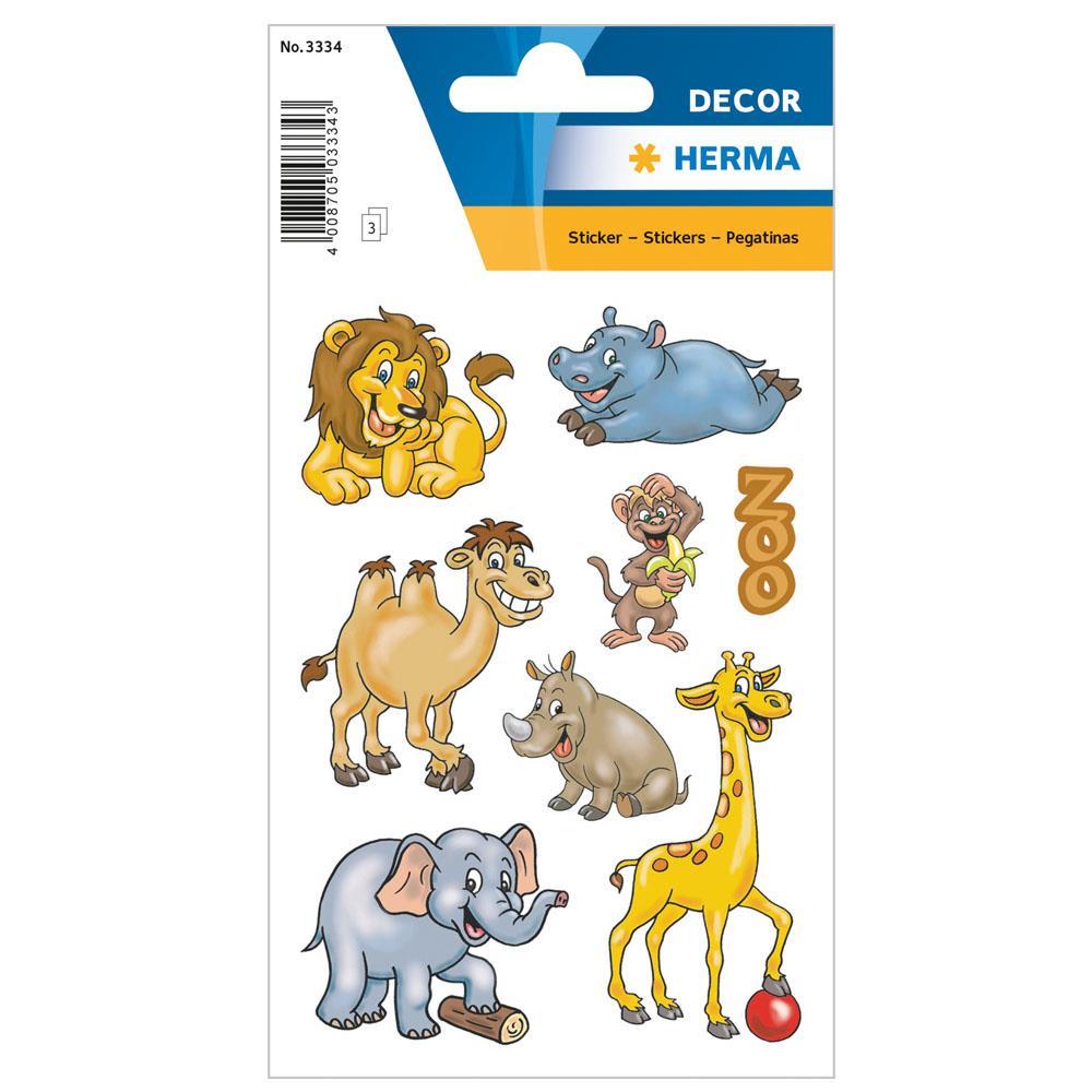 Αυτοκόλλητα Herma Decor 3334 zoo animals