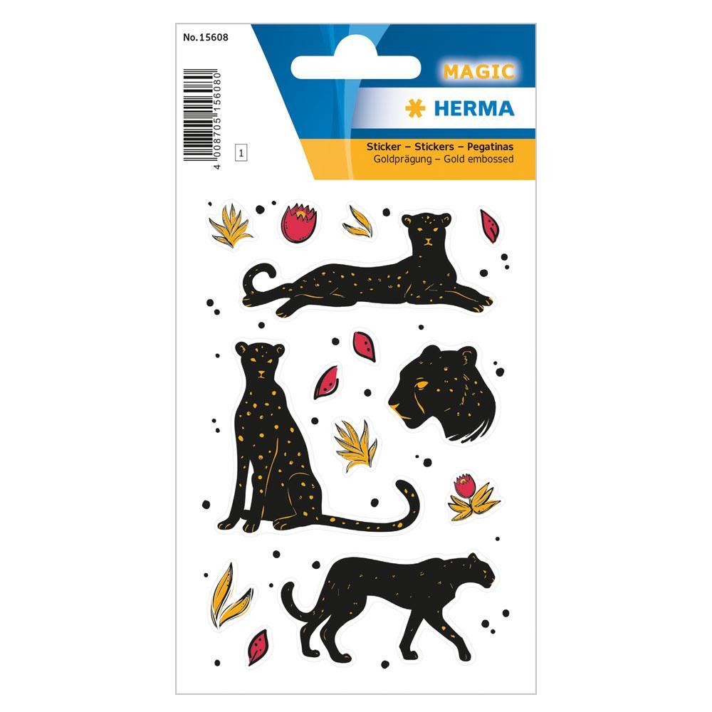 Αυτοκόλλητα Herma Magic 15608 black panther