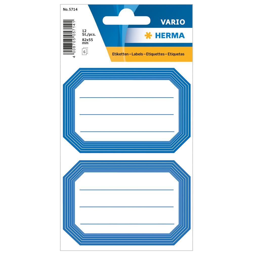 Αυτοκόλλητα Herma Vario 5714 School labels blue