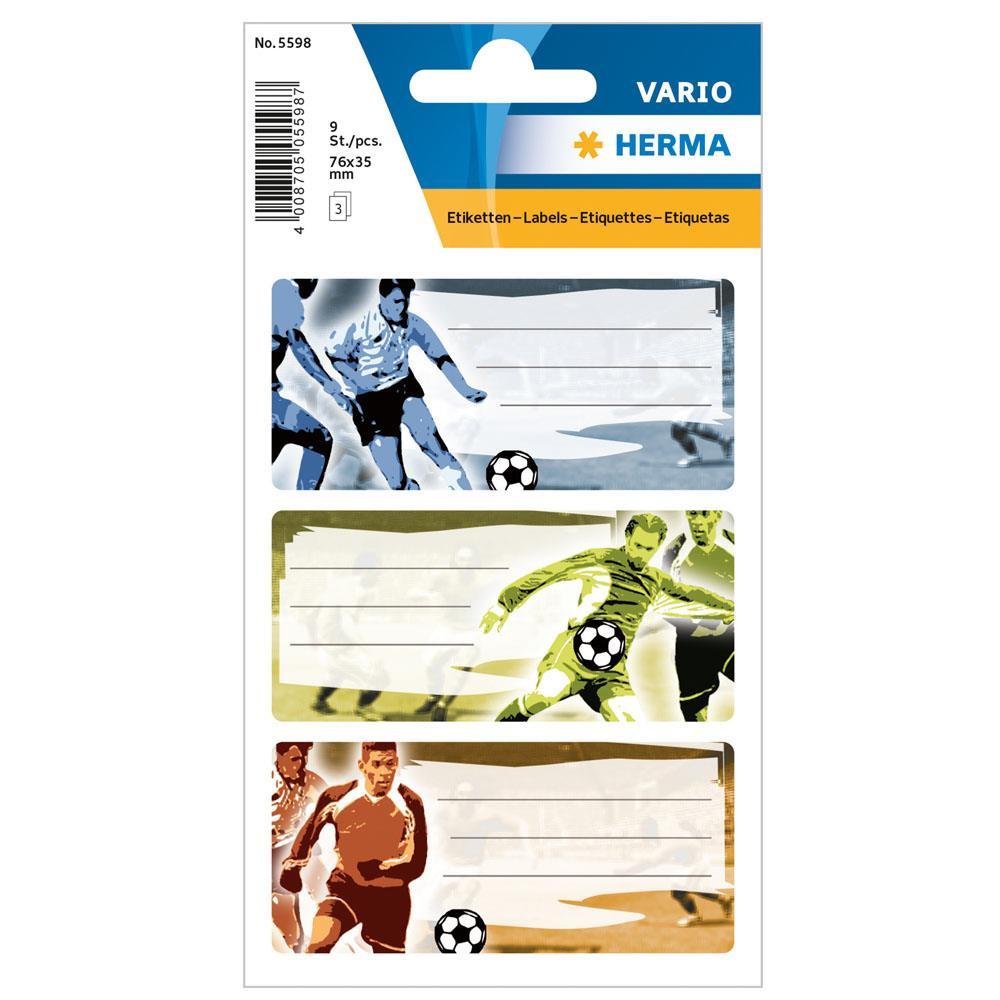 Αυτοκόλλητα Herma Vario 5598 school Football