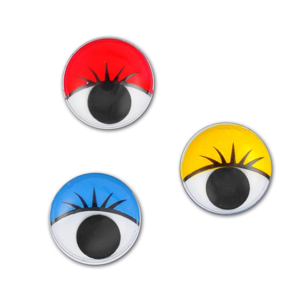 Ματάκια Meyco χρωματιστά 7mm 18τεμ. 26336-SB