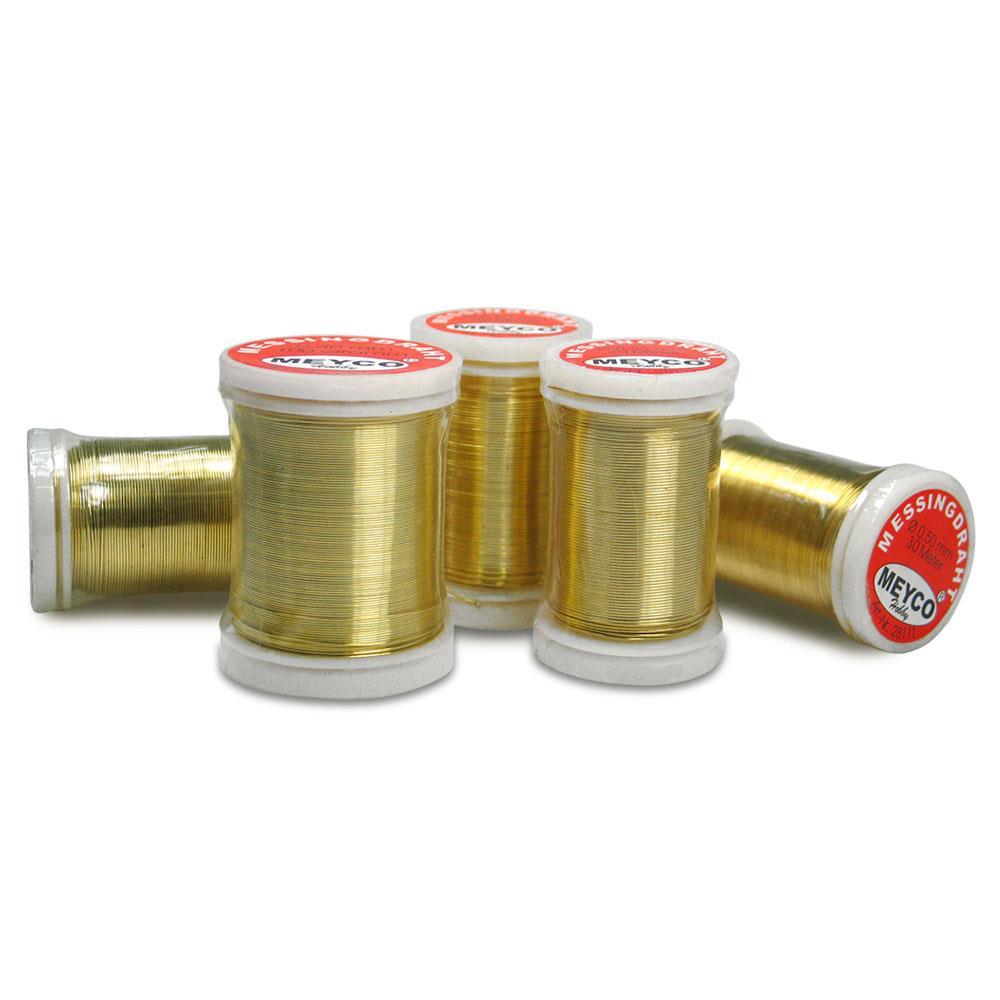 Σύρμα Meyco χρυσό 0,30mmx50m 28208