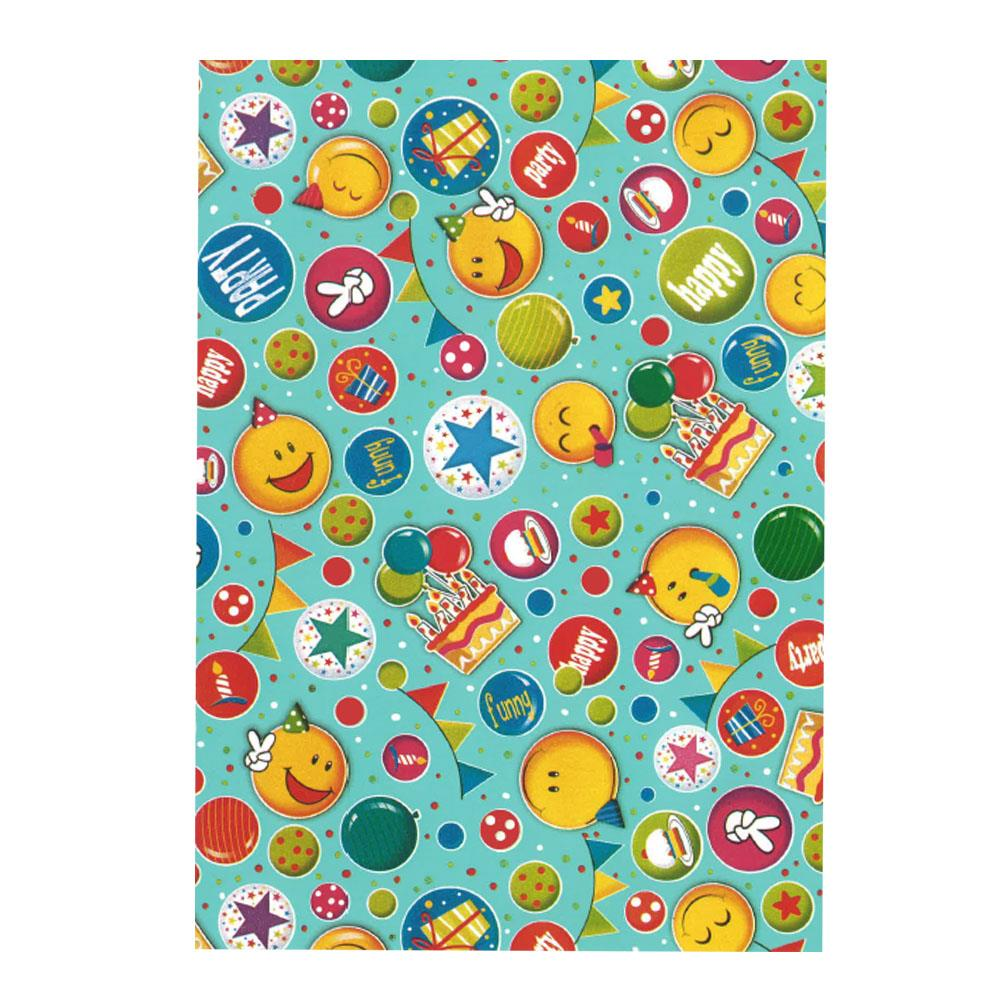 Χαρτί δώρου bolis 70 x100 cm Playtime colorsmile