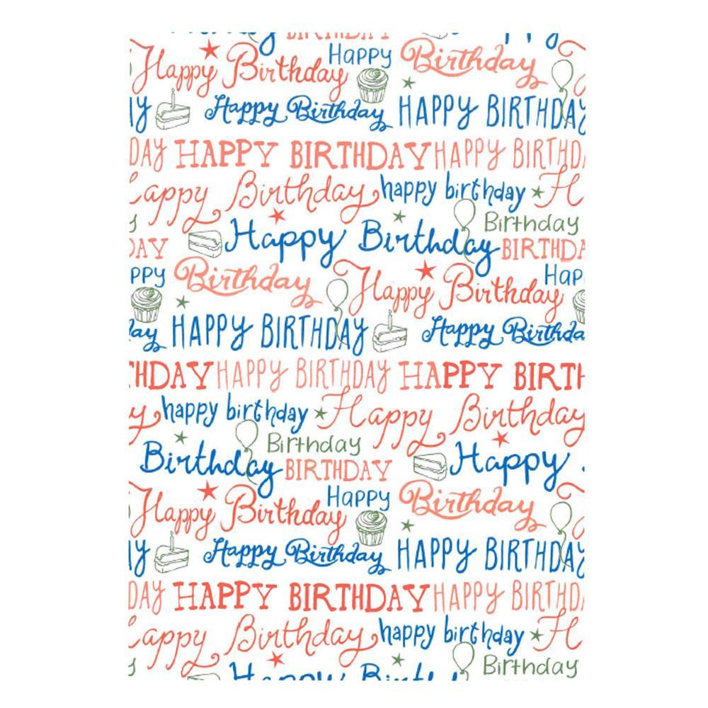 Χαρτί δώρου bolis 70 x100 cm Playtime wishes