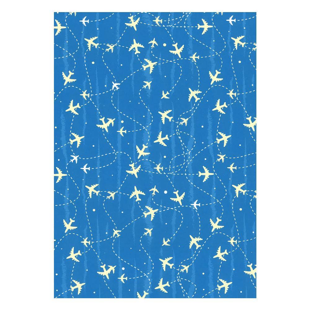 Χαρτί δώρου bolis 70 x100 cm Supermix airplanes