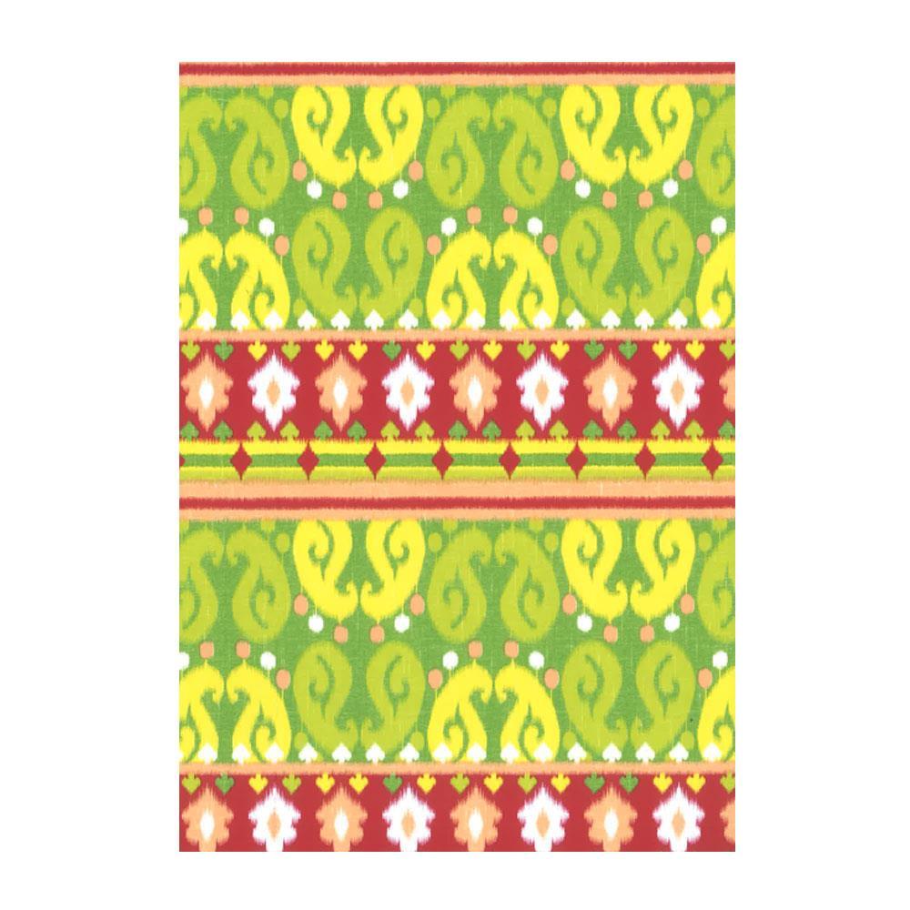 Χαρτί δώρου bolis 70 x100 cm Kilim green