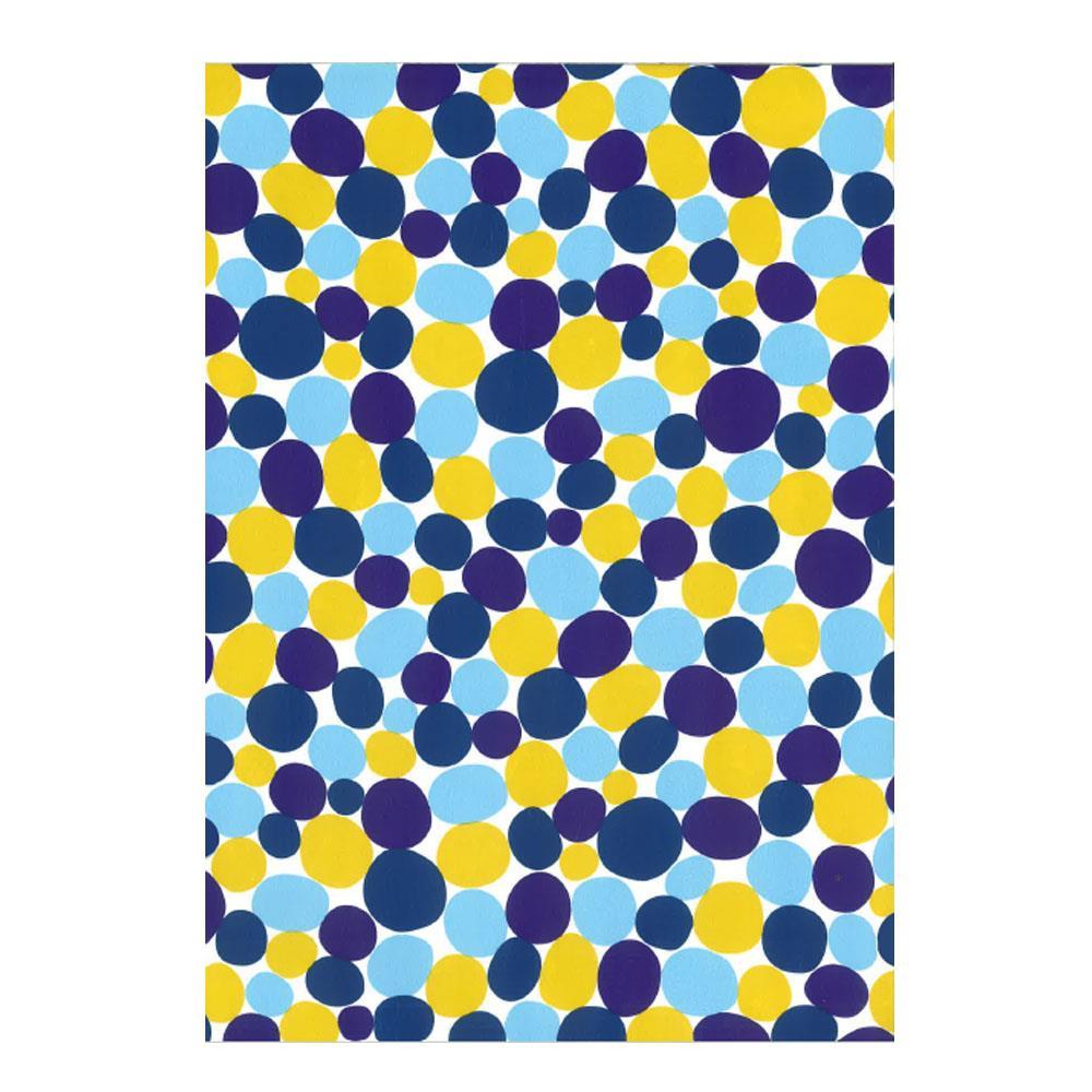 Χαρτί δώρου bolis 70 x100 cm Kilim blueyellow