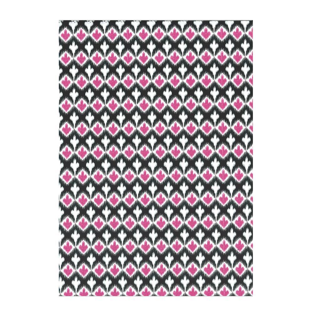 Χαρτί δώρου bolis 70 x100 cm Kilim pinkarrow