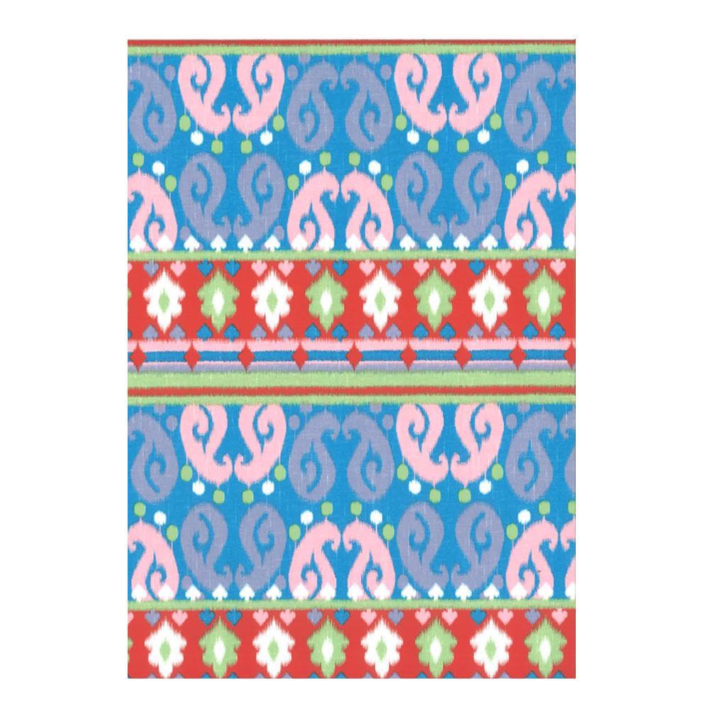 Χαρτί δώρου bolis 70 x100 cm Kilim blue