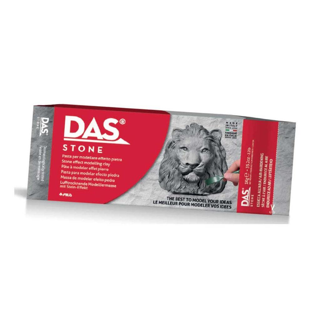 Πηλός Das stone 1 kg γκρι