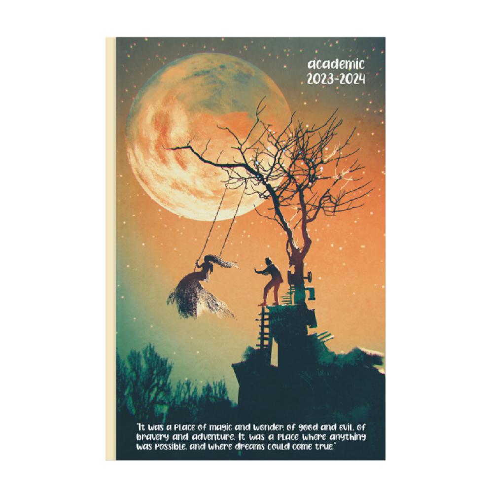 Ημερολόγιο ακαδημαϊκό 14x21 ημερήσιο reflecto D
