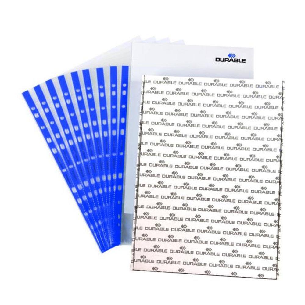 Ζελατίνη με τρύπες Α4 Durable μπλε