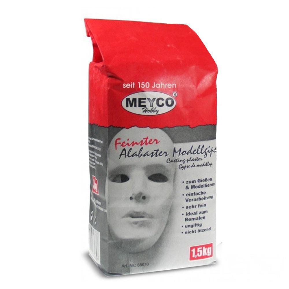 Γύψος Meyco 65870 1,5 kg σε χάρτινη σακούλα λευκός