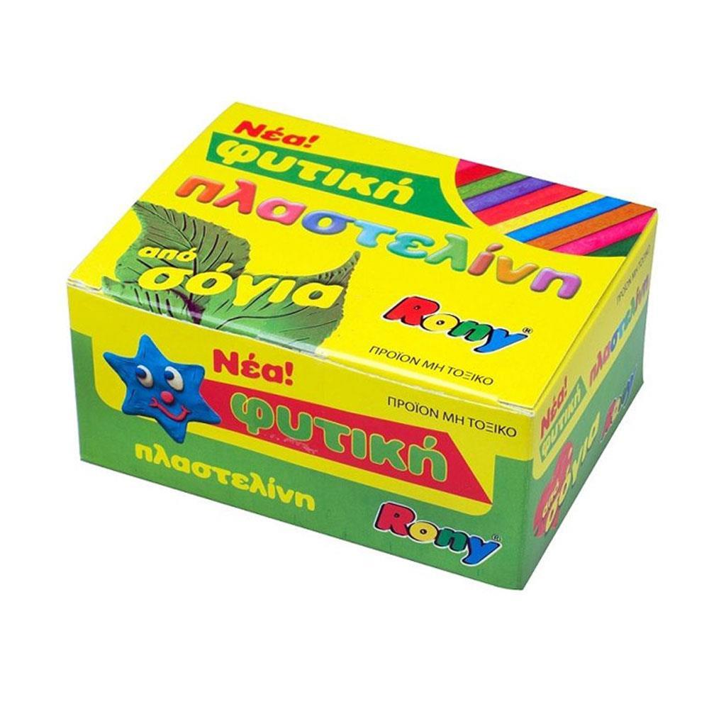Πλαστελίνη σόγιας Rony κουτί 11 τεμάχια