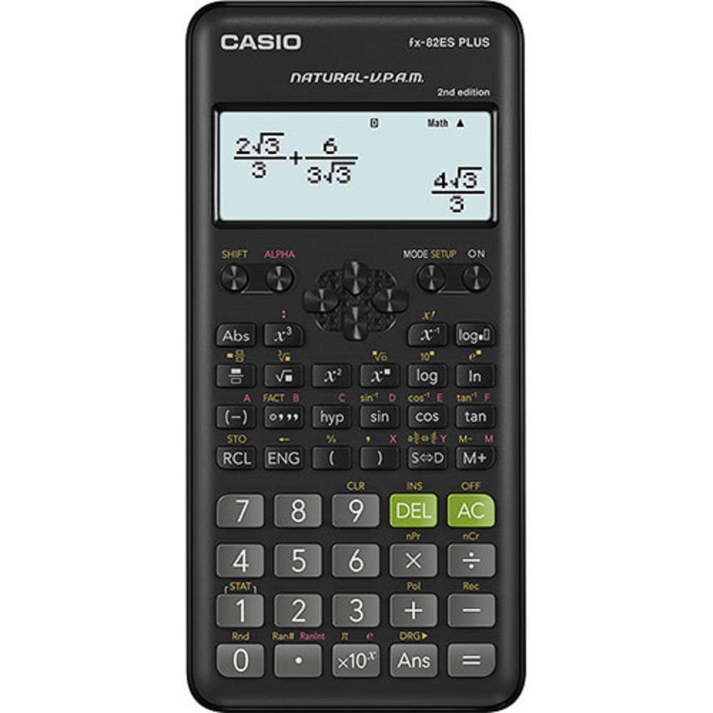 Αριθμομηχανή Casio FX-82ES PLUS 2nd edition επιστημονική