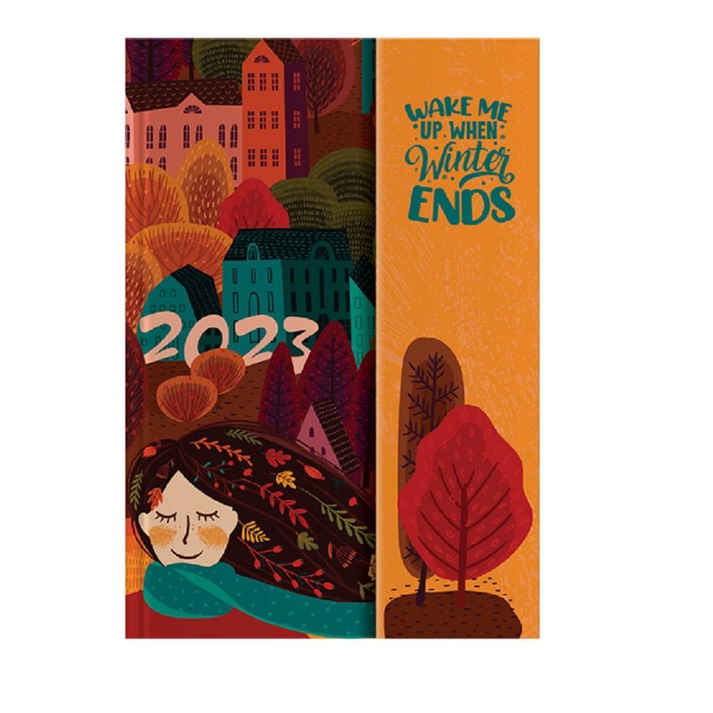 Ημερολόγιο 2022 10x14 ημερήσιο ballarina magnetic c