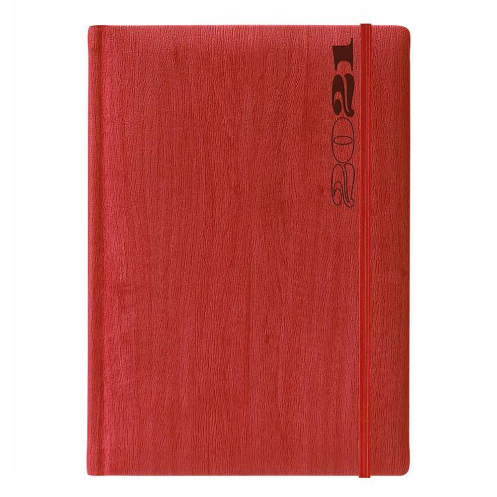 Ημερολόγιο 2021 14x21 ημερήσιο Gardena Tabs κόκκινο