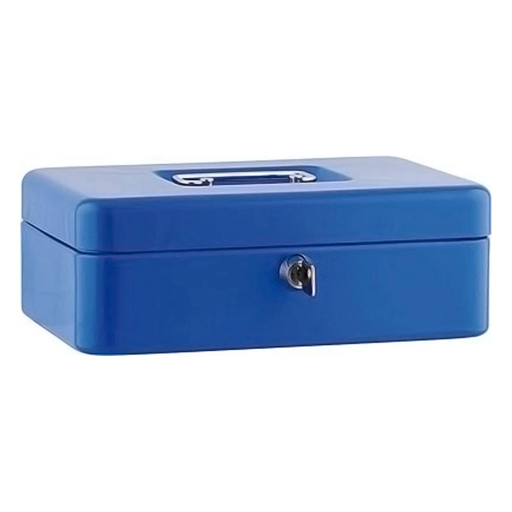 Χρηματοκιβώτιο φορητό ταμείο Sax 25x18x9 cm μπλε