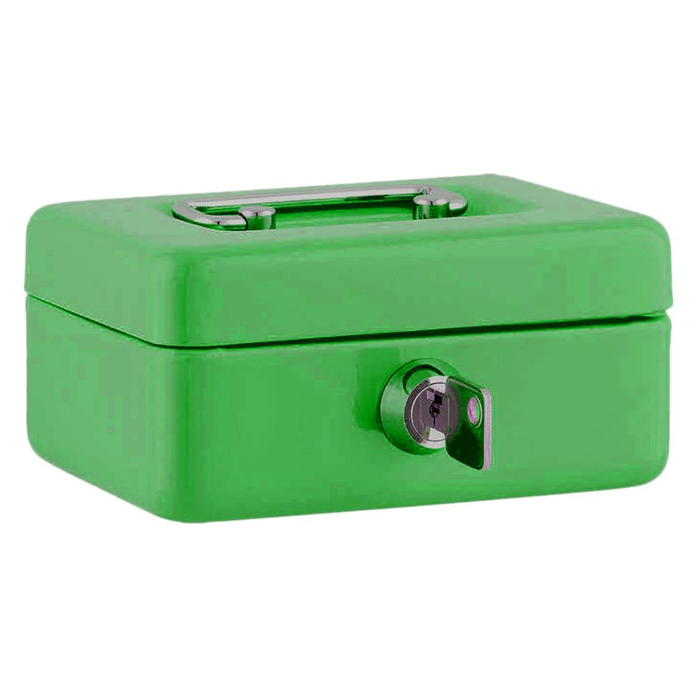 Χρηματοκιβώτιο Sax 12,5x9,5x6,2 cm πράσινο