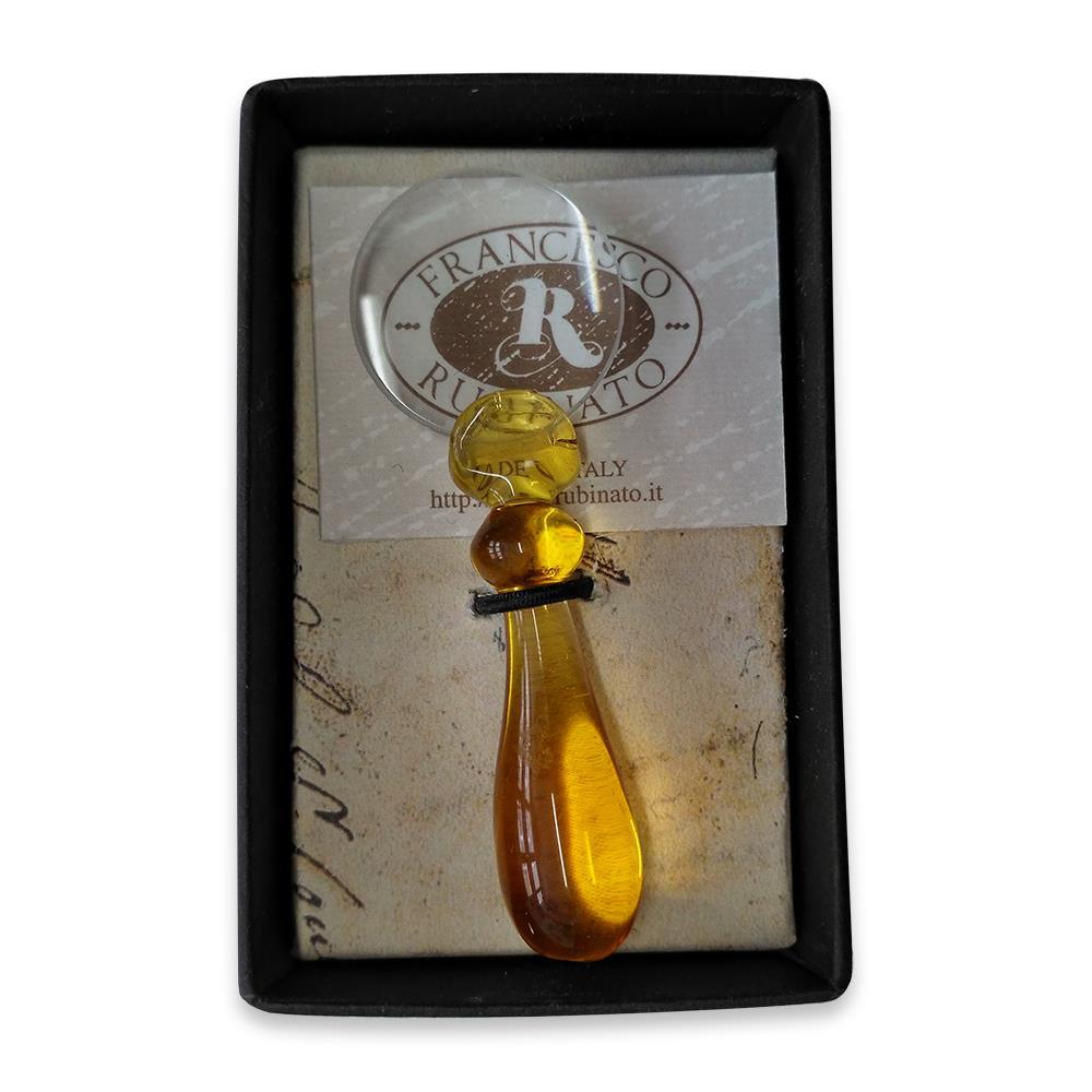 Μεγεθυντικός φακός γυάλινος Νο1 Rubinato κίτρινο