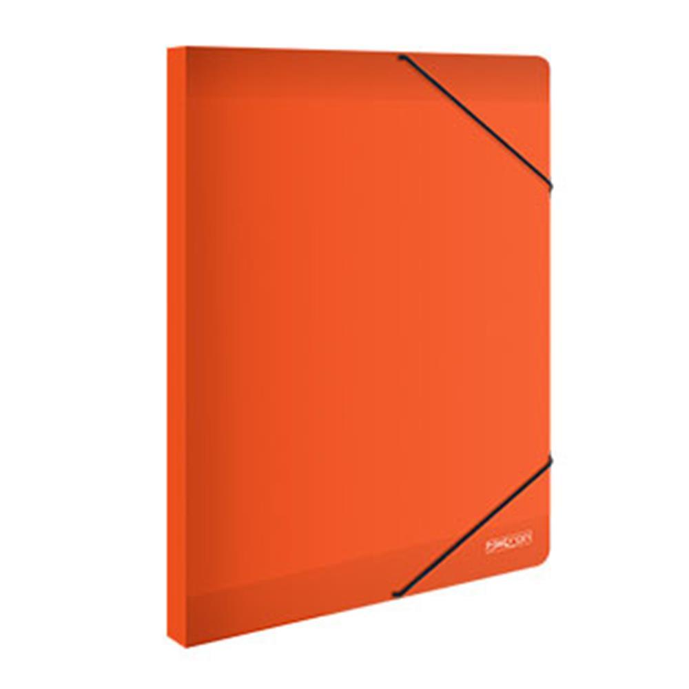 Κουτί λάστιχο Metron 25x35x3cm πορτοκαλί
