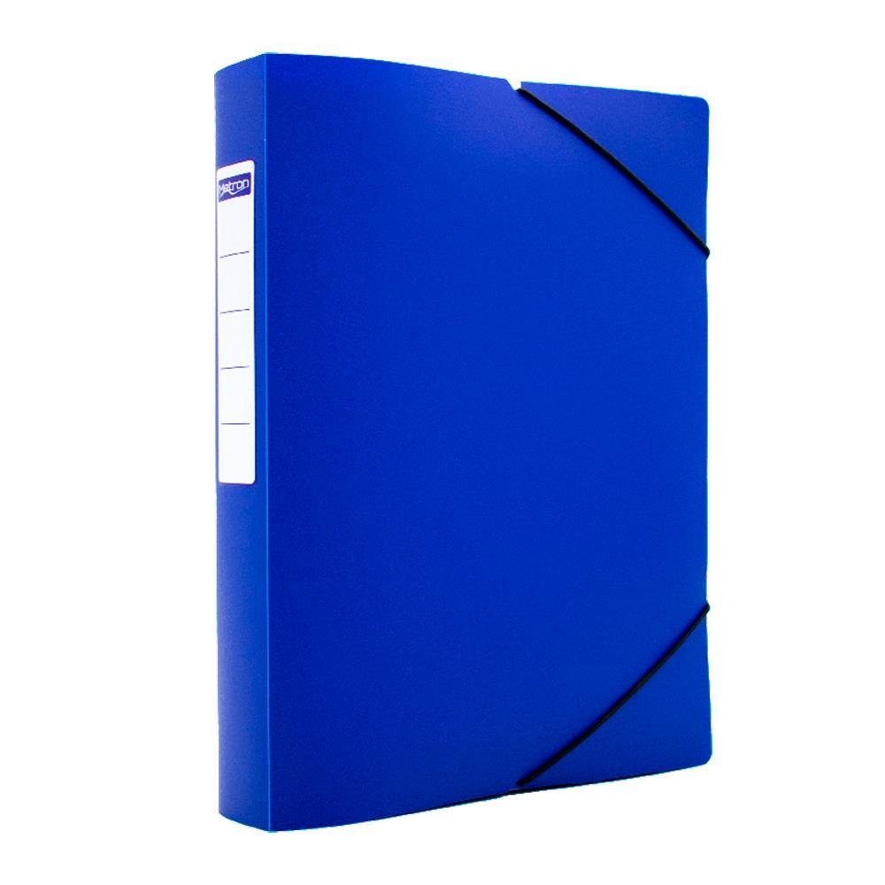 Κουτί λάστιχο Metron 25x35x5cm μπλε