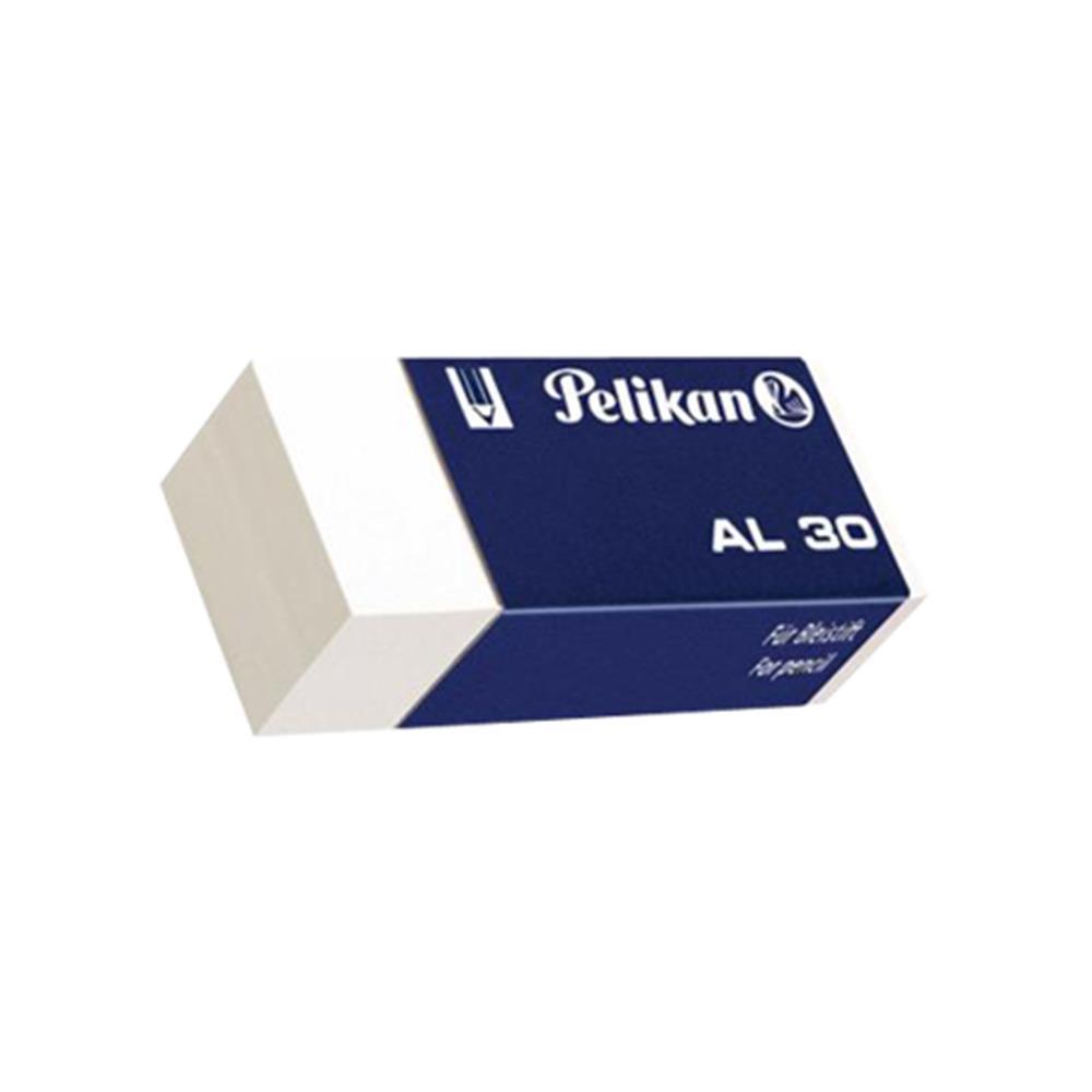 Γόμα Pelikan Al-30 λευκή μικρή