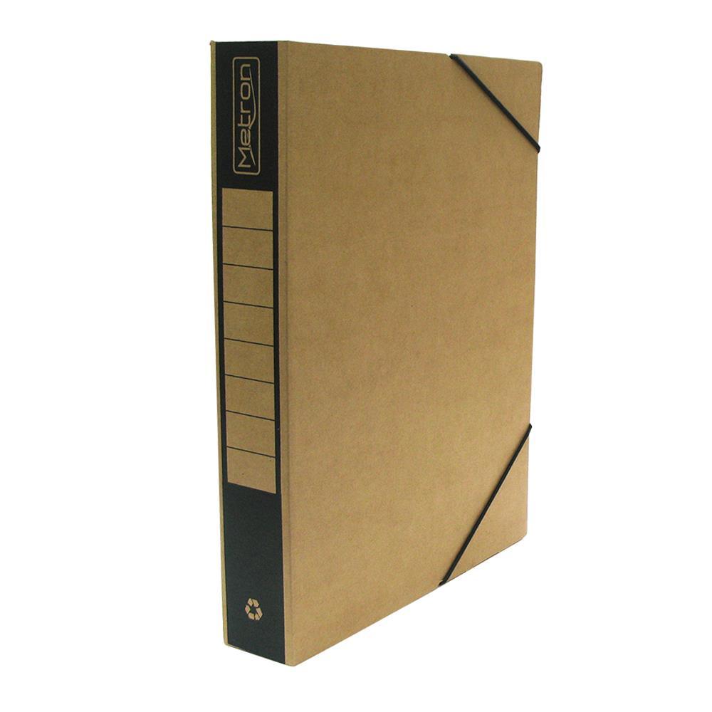 Κουτί λάστιχο οικολογικό Metron 25x33x5cm μαύρο