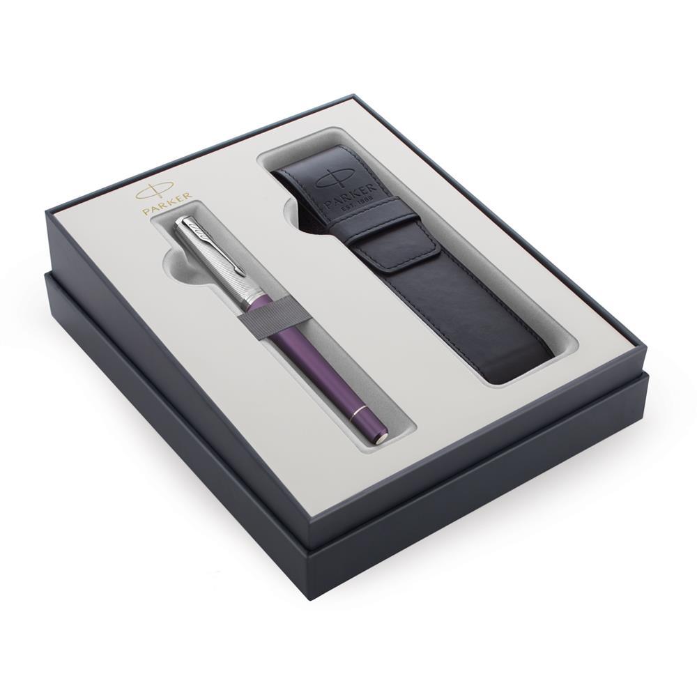 Σετ Parker Urban Premium Violet CT μαρκαδοράκι με θήκη δώρο