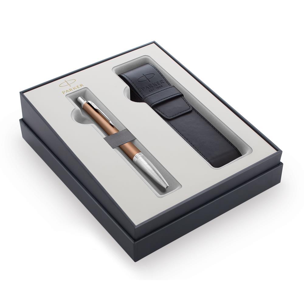 Σετ Parker Urban Premium Orange CT στυλό με θήκη δώρο