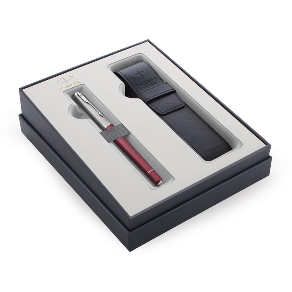 Σετ Parker Urban Premium Dark Purple CT πένα με θήκη δώρο