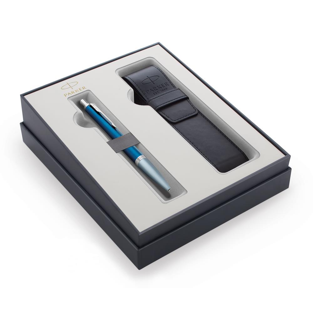 Σετ Parker Urban Premium Dark Blue CT στυλό με θήκη δώρο