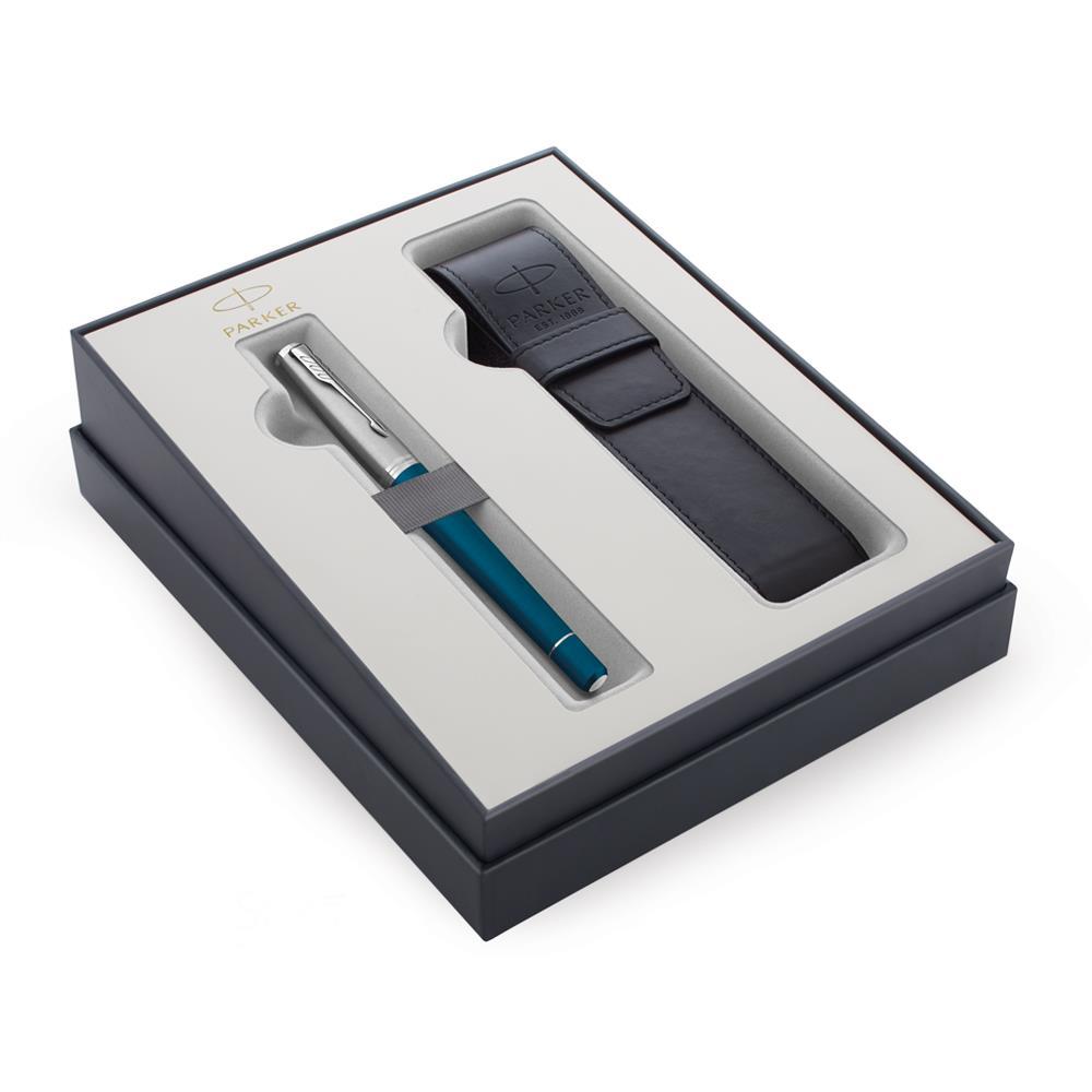 Σετ Parker Urban Premium Dark Blue CT πένα με θήκη δώρο