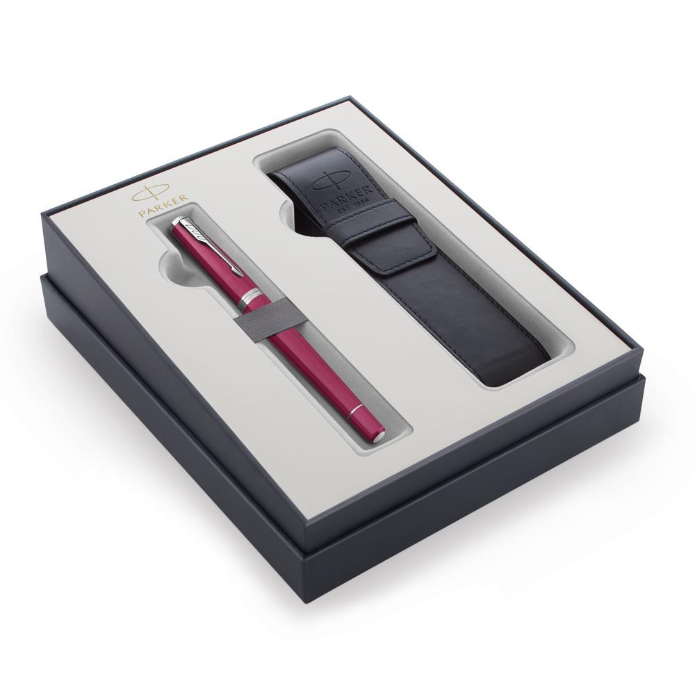 Σετ Parker Urban Core Vibrant Magenta CT πένα με θήκη δώρο