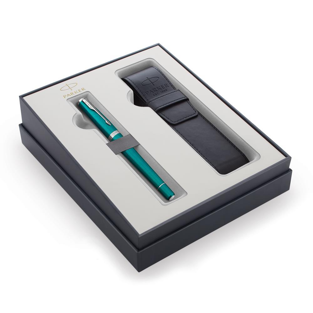 Σετ Parker Urban Core Vibrant Blue CT πένα με θήκη δώρο