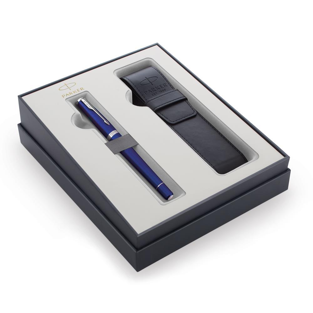 Σετ Parker Urban Core Night Sky Blue CT πένα με θήκη δώρο